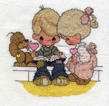 precious moments free cross stitch patterns