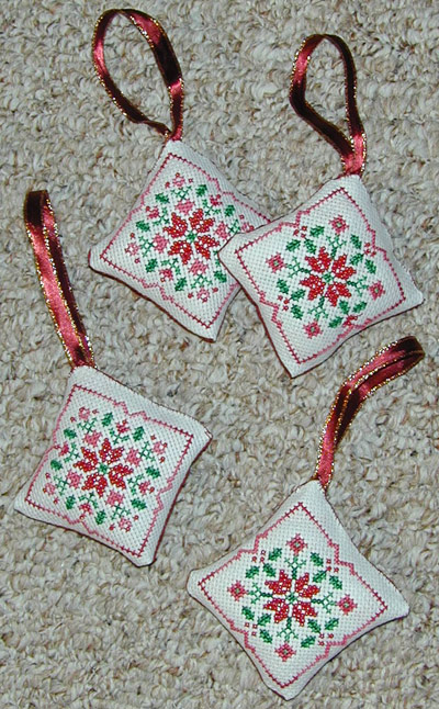 Free Printable Christmas Ornament Cross Stitch Patterns.Recently Completed Cross Stitch Projects